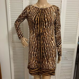 Michael Kors  Leopard Dress